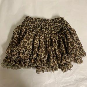 Toddler Girls Tutu Bundle Blush Teal Leopard Print
